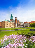 Royal Archcathedral Basilica, Wawel Castle Stock Image