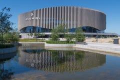 Royal Arena, Orestad, Copenhagen, Denmark with reflection Royalty Free Stock Photography