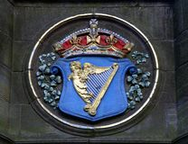 Royal Arms of Ireland Royalty Free Stock Photos