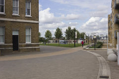 Royal Arsenal Street in Woolwich Stock Image