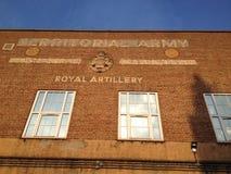 Royal Artillery Barracks, London. Army Barracks in Camden London UK royalty free stock photography
