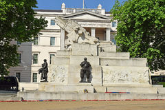 Royal Artillery Memorial, Hyde Park Corner in central London, UK Royalty Free Stock Image
