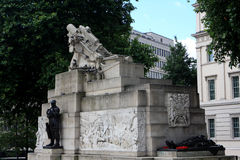 Royal Artillery Memorial, London Royalty Free Stock Photos