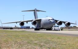 Royal Australian Airforce plane Stock Photo