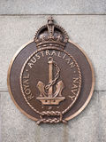 Royal Australian Navy Plaques, Kings Park Perth Western Australia Royalty Free Stock Photo