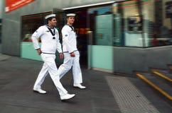 Royal Australian Navy sailors stock image