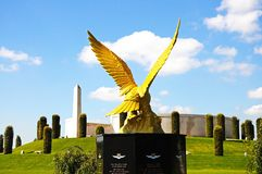 Royal Auxiliary Air Force Monument. Stock Images