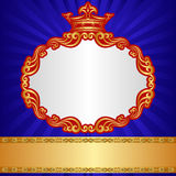 Royal background Royalty Free Stock Photos