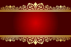 Royal background with decorated frame Royalty Free Stock Images