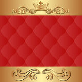 Royal background Stock Photos