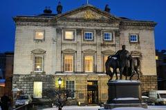 Royal Bank de matrizes de Scotland, Scotland, Reino Unido Fotos de Stock