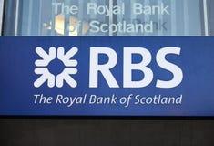 Royal Bank de Scotland Foto de Stock