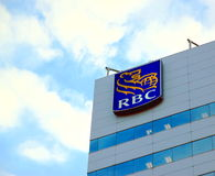 Royal Bank del Canada firma Immagini Stock