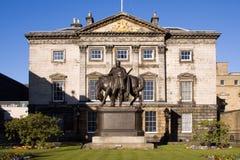 Royal Bank del HQ Dundas della Scozia alloggia, Edinburgh Fotografie Stock