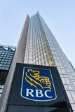 Royal Bank Operational Headquarters in Toronto Stock Image