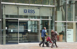 Royal Bank of Scotland Royalty Free Stock Photo