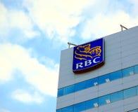 Royal Bank van het Teken van Canada Stock Afbeeldingen
