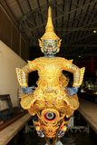 Royal Barge In National Museum of Royal Barges, Bangkok, Thailand. Royal Barge is a ceremonial barge that is used by a monarch for processions and transport on a royalty free stock images