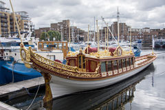 The Royal Barge Gloriana Royalty Free Stock Image