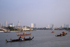 Royal Barge Procession Royalty Free Stock Photo