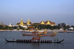 Royal Barge Procession Royalty Free Stock Photos