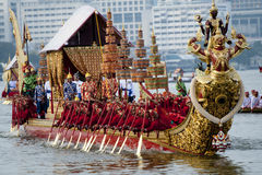 The Royal Barge Procession Stock Photos