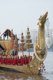 The Royal Barge Procession Stock Photography