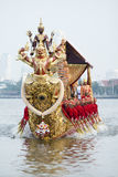 The Royal Barge Procession Royalty Free Stock Photos