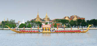 Royal Barge Procession Stock Photo