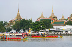 Royal Barge Procession Stock Photo