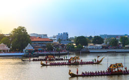 Royal Barge Procession Stock Photos