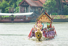 Royal Barge Procession, Bangkok 2012 Royalty Free Stock Photos