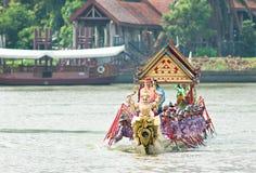 Royal Barge Procession, Bangkok 2012 Royalty Free Stock Photos