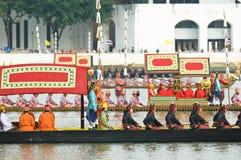 Royal Barge Procession, Bangkok 2012 Stock Photo