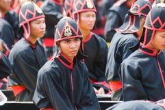 Royal Barge Procession, Bangkok 2012 Royalty Free Stock Photography