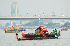 Royal Barge Procession, Bangkok 2012 Stock Image