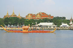 The Royal Barge Procession Rehearsal Royalty Free Stock Images