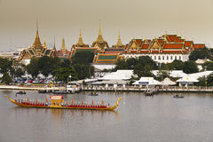 Royal Barge Procession in Thailand Stock Images