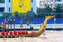The Royal Barge Suphannahong Stock Images