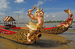 Royal Barge Thailand Stock Image