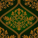 Barocco seamless pattern Royalty Free Stock Photos