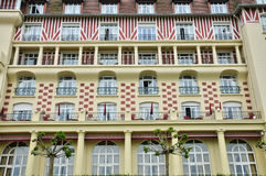 Royal Barriere hotel in Deauville Stock Photography
