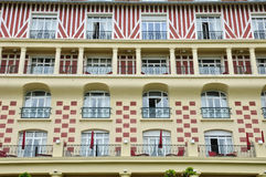 Royal Barriere hotel in Deauville Royalty Free Stock Image