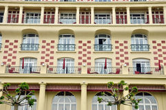Royal Barriere hotel in Deauville Royalty Free Stock Photo