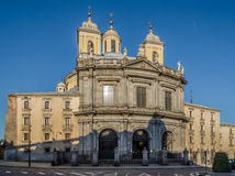The Royal Basilica of San Francisco el Grande in Madrid Stock Photography