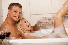 Royal bath Stock Images