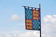 Royal battle banner Royalty Free Stock Image