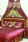 Royal bed Stock Photo