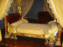 Royal bed Royalty Free Stock Photo