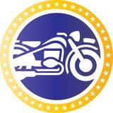 Royal bike logo concept Stock Photography
